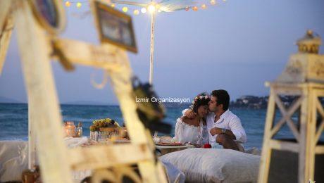 Kumsalda Evlilik Teklifi Organizasyonu ve 14 Şubat Sevgililer Günü