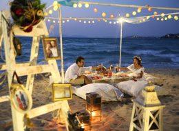 Çeşme Plajda Evlilik Teklifi Organizasyonu