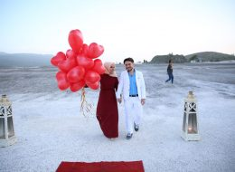 Salda Gölü'nde Evlilik Teklifi Organizasyonu