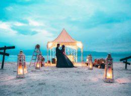 Salda Gölünde Kumsalda Evlilik Teklifi Organizasyonu