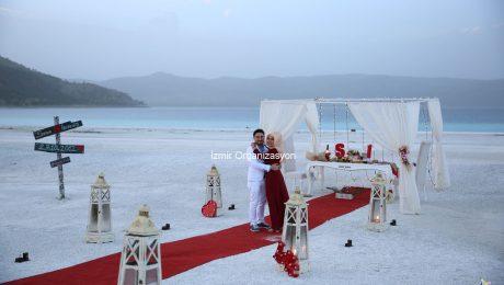 Salda Gölünde Evlilik Teklifi Organizasyon