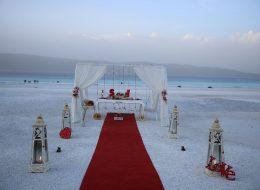 Salda Gölünde Evlilik Teklifi Organizasyonu