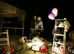 Doğum Günü Organizasyonu İle Başlayan Bodrum'da Evlilik Teklifi Organizasyonu