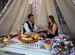 Düş Kapanı Evlilik Teklifi Organizasyonu Paketi İzmir