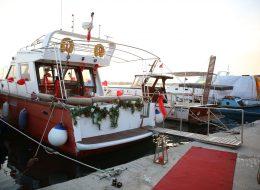 Bostanlı'da Havai Fişek Gösterisi İle Evlenme Teklifi Organizasyonu