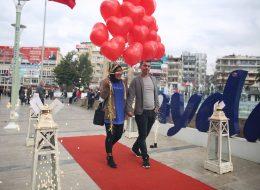 Dev Pankart Eşliğinde Aydın Evlilik Teklifi Organizasyonu