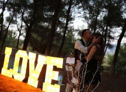 Erkenci Kuş Evlilik Teklifi Organizasyonu