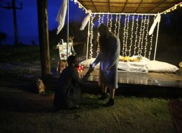 Çeşme Plajda Evlenme Teklifi Organizasyonu