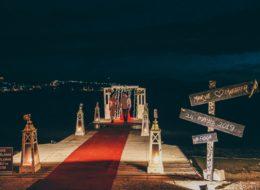 Foça İskele Evlilik Teklifi Organizasyonu