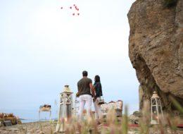 Yarımadada Evlenme Teklifi Organizasyonu
