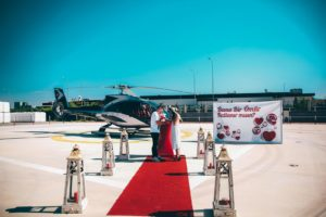 Helikopter Evlilik Teklifi Organizasyonu