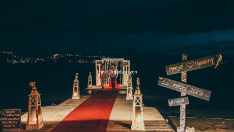 Marriage Proposal Organization At Ayvalık Beach