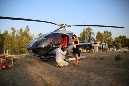 Helicopter Marriage Proposal Organization