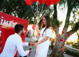 Alaçatı Marriage Proposal Organization