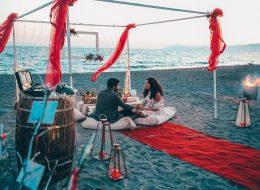 Seferihisar Beach Marriage Proposal Organization