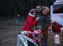 Sihirli Orman Karavan Evlilik Teklifi Organizasyonu