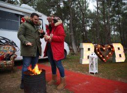 Karavanda Evlilik Teklifi Organizasyonu Paketi