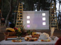 Açık Hava Sinemasında Sürpriz Evlilik Teklifi Organizasyonu