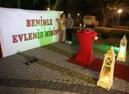 İzmir Evlilik Teklifi Organizasyonu Fotoğraf Çekimi İzmir Organizasyon