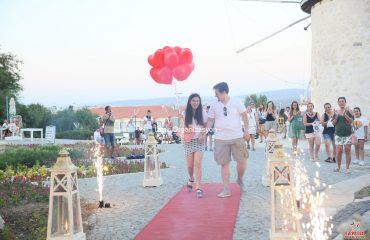 İzmir Çeşme Alaçatı Evlilik Teklifi Organizasyonu Volkan Gösterisi İzmir Organizasyon