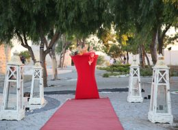 Yel Değirmenlerinde Evlenme Teklifi Organizasyonu yürüyüş Yolu Süsleme İzmir Organizasyon