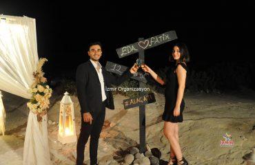 Kumsalda Evlilik Teklifi Dekorları