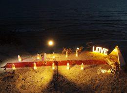 Alaçatı Kumsal Evlilik Teklifi Organizasyonu Paketi
