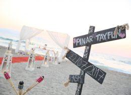 Aydın Kuşadası Kumsalda Evlilik Teklifi Organizasyonu Pınar & Tayfun