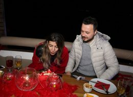 Birthday Event on the Boat and Celebration of 14 February Valentine's Day