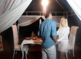 Kumsal Konseptli Evlilik Teklifi Organizasyonu İzmir Organizasyon