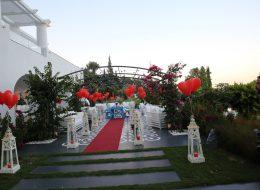 Bodrum Restoranda Evlilik Teklifi Organizasyonu Hande & Mert Çifti