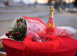 Gül Buketi ve Şampanya Temini