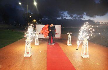 Bostanlı'da Evlilik Teklifi Organizasyonu