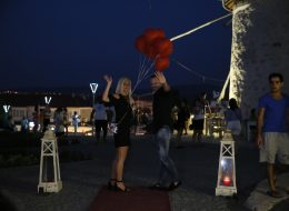 İzmir Evlilik Teklifi Organizasyonu Yürüyüş Yolu Süsleme İzmir Organizasyon