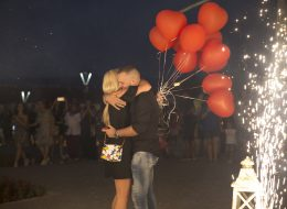 Evlilik Teklifi Organizasyonu Uçan Balon Demeti İzmir Organizasyon