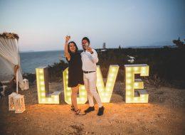 Çeşme Bohem Tarzı Evlilik Teklifi Organizasyonu