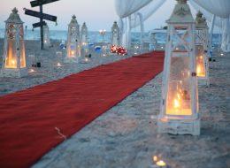 İzmir Plaj Konseptli Evlenme Teklifi Organizasyonu Detayları İzmir Organizasyon