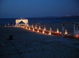 Çeşme Kumsal Konseptli Evlenme Teklifi Organizasyonu İzmir Organizasyon
