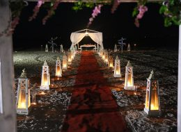 İzmir Kumsal Evlilik Teklifi Organizasyonu Konsepti İzmir Organizasyon