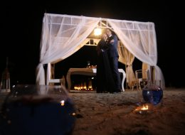 İzmir Plajda Evlilik Teklifi Organizasyonu Gazebo Süsleme İzmir Organizasyon