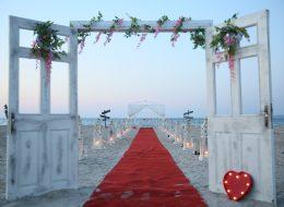 Plaj Kapı Süsleme İzmir Organizasyon