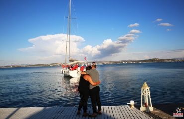 Çeşme'de Evlilik Teklifi Organizasyonu İzmir