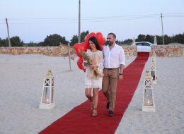 Çeşme Deniz Kenarında Evlenme Teklifi Organizasyonu Uçan Balon İzmir Organizasyon