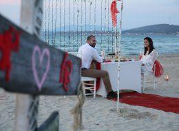 Romantik Evlilik Teklifi Organizasyonu İzmir Organizasyon
