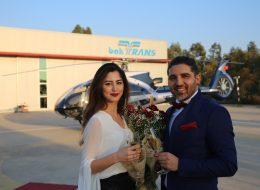 Doğum Gününde Helikopterde Evlenme Teklifi Organizasyonu İzmir Organizasyon