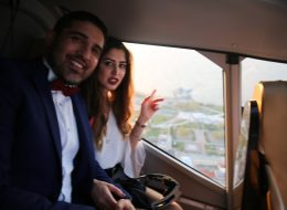 Gökyüzünde Sürpriz Evlilik Teklifi Organizasyonu İzmir Organizasyon