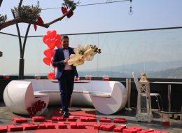 Doğum Gününde Helikopterde Helikopterde Evlenme Teklifi Organizasyonu İzmir Organizasyon