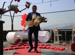 Doğum Gününde Helikopterde Evlenme Teklifi Organizasyonu Restoranda Evlilik Teklifi Organizasyonu Hazırlıkları İzmir Organizasyon