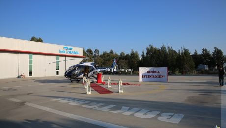 Doğum Gününde Helikopterde Evlenme Teklifi Organizasyonu Damla & Caner