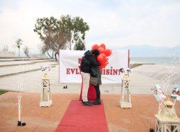Engel Tanımayan Evlilik Teklifi Organizasyonu